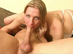 Euro red vex and christian xxx cumshot. RedVex blowjob and gets screwed heavy
